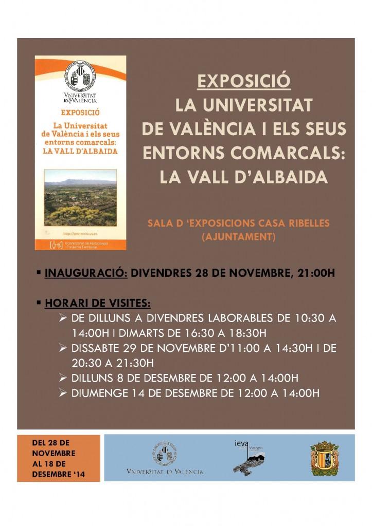 CARTELL EXPOSICIÓ UNIVERSITAT